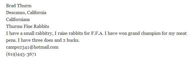 Thurms Fine Rabbits