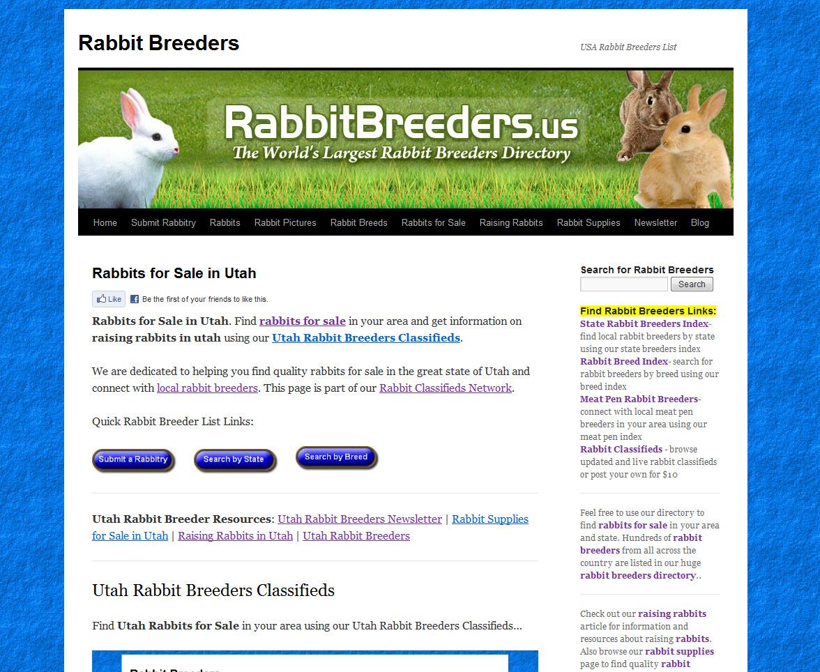 Utah Rabbit Breeders